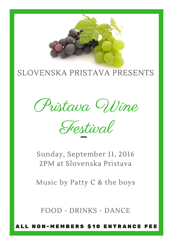 Pristava Wine Festival