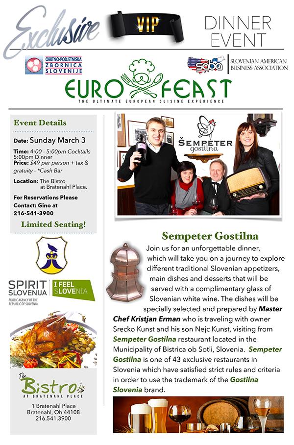 slovenian dinner March 3