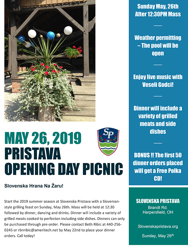 Opening Day 2019 Flyer